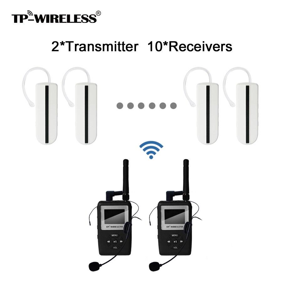 TP-Wireless UHF-Übertragung HDCD-Audio Tour Guide - Tragbares Audio und Video - Foto 1
