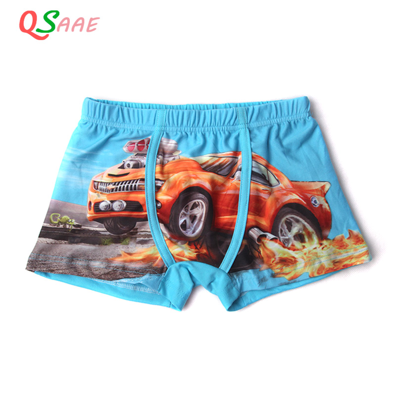 Hot sale Soft Cotton Kids Boys Underwear Comfortable Pure Color Children's Boy Boxer Shorts Panties 1PCS Underwear 2-18y QS7001 5piece new pure color boys kids underwear boxers mixing many children underwear modal high quality soft modal boys briefs2 16y