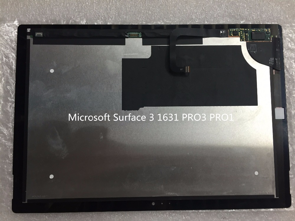 For Microsoft Surface pro3 1631 V1.1 version LCD assembly touch screen for microsoft surface pro 4 assembly lcd displays screen touch screen