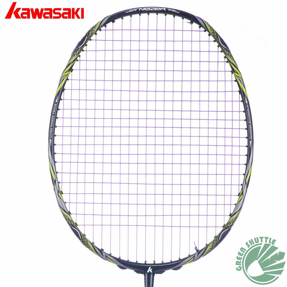 2019 Five Star 100% Original Kawasaki Top Quality Badminton Racket Professional Force Carbon Fiber Raquette Badminton