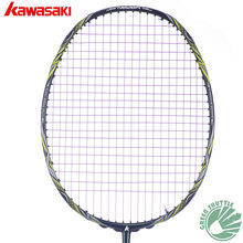 2019 Five Star 100% Original Kawasaki Top Quality Badminton Racket Professional Force Carbon Fiber Raquette Badminton(China)