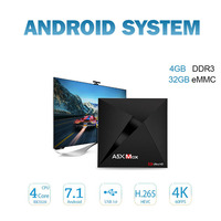 A5X Max Smart Android 7 1 TV Box RK3328 Quad Core Android Box 4K VP9 H