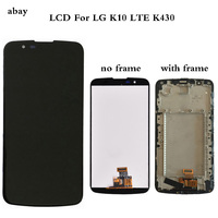 5.3For LG K10 LTE K420N K430 K430DS LCD Display with Touch Screen Digitizer Assembly with frame Replacement Parts