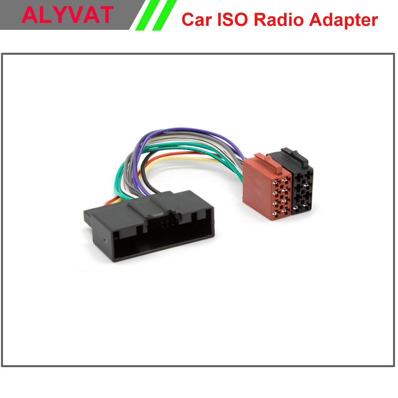 Car Iso Radio Wiring Harness For Ford Focus 2011  Fiesta C