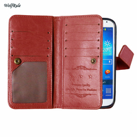 Coque For Samsung S4 Cover Luxury Retro Design Flip Leather Walllet Case For Samsung Galaxy S4