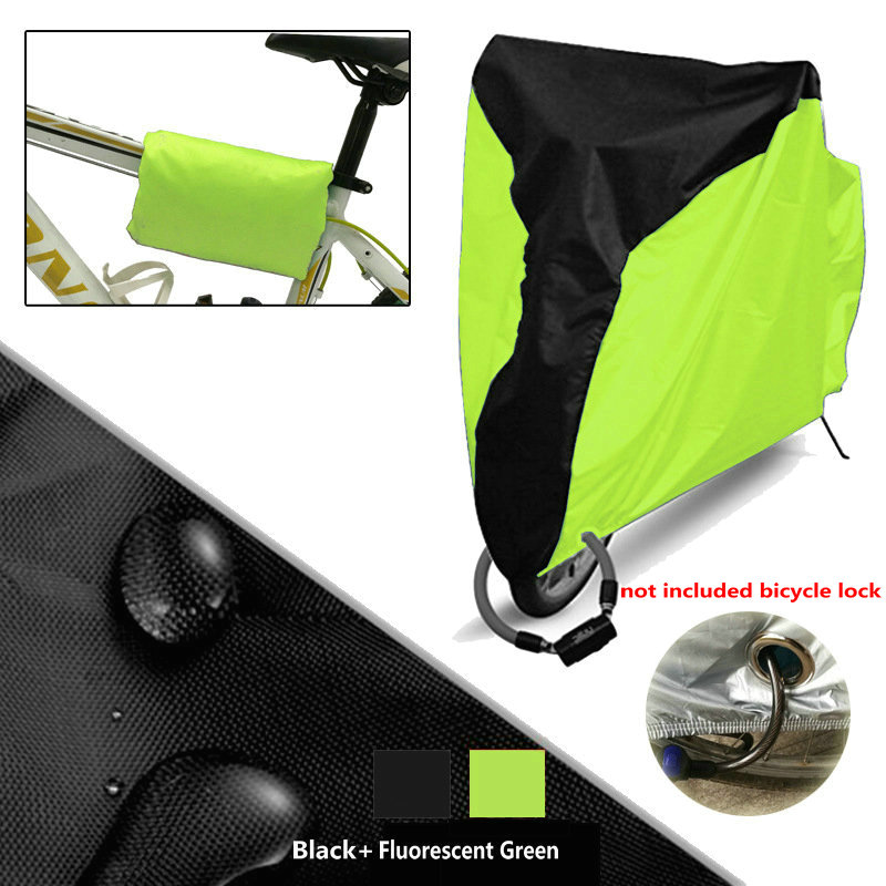 New Bike Rain Dust Cover Waterproof Outdoor Bicycle Protector Gray For Bike Bicycle Utility Cycling Outdoor Bicycle Protector