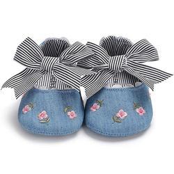 Детская обувь; сезон весна-лето; мягкая подошва; дышащая обувь для малышей 6-12 месяцев; Новинка; стиль принцессы; mr001