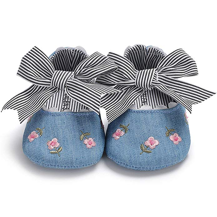 Baby Shoes In Spring And Summer Soft Sole Breathable 6-12 Months Baby Cloth Shoes New Princess Style Mr001