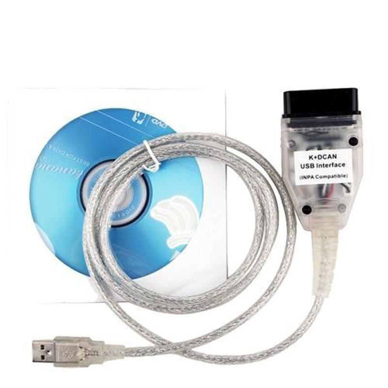 Prix pour INPA Ediabas NCS D'EXPERTS K-CAN D-CAN OBD2 Diagnostic OBD USB Interface Câble pour BMW fit pour XP/Win7 Système, 32 peu