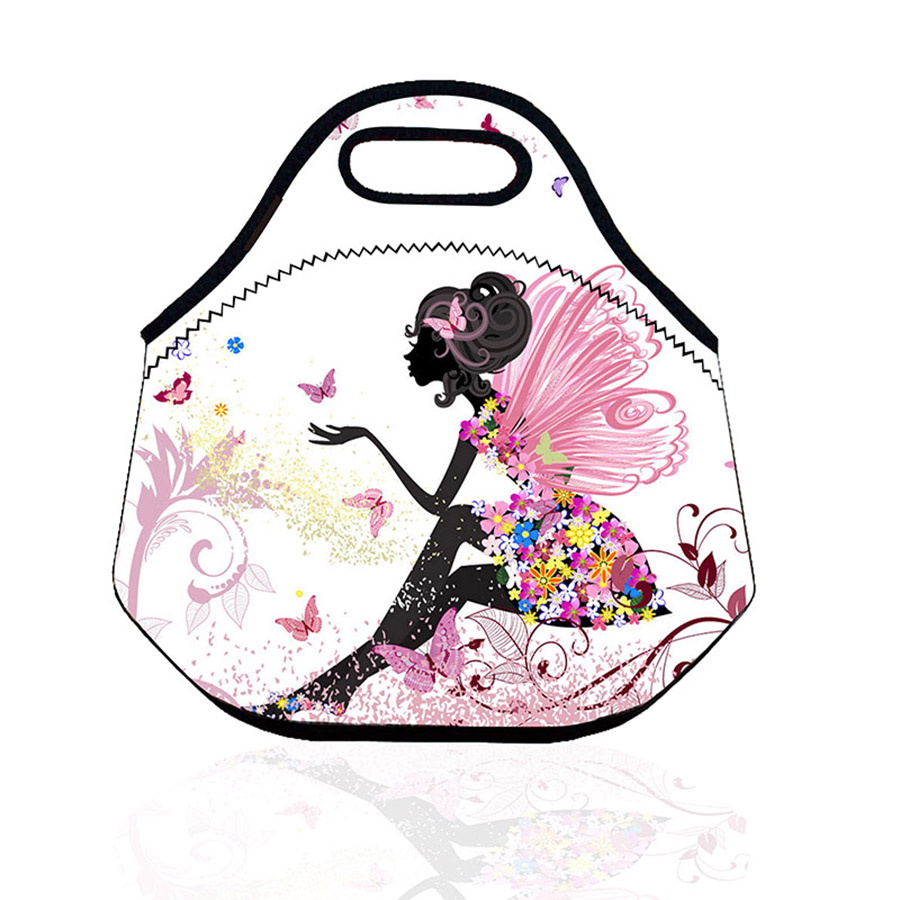 Insulated  Lunch Bags Cooler Thermal Waterproof Lancheira Thermo Thermal Insulated Neoprene Lunch Bag Picnic Box