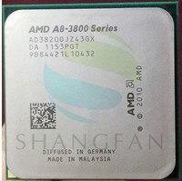 AMD A8 3800 A8 3820 A8 3820 2.5GHz 65W 4M Quad Core CPU Processor AD3820OJZ43GX A8 3820K Socket FM1/ 905pin