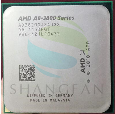 Free shipping for AMD A8 3800 A8 3820 A8 3820 2 5GHz 65W 4M Quad Core