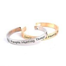 Supernatural Saving People Hunting Things Bracelet