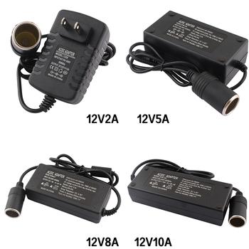 Adapter ac DC 110V 220V do 12V 2A 5A 8A 10A zasilacz zapalniczka samochodowa konwerter inwerter 220V 12V zapalniczka z wtyczką ue tanie i dobre opinie ZUCZUG LJH-186 Przełączania Podłącz inverter 12v 220v AC DC 220V To 12V power adapter 12v AC DC 12V Adapter 12V 12v 10a adapter
