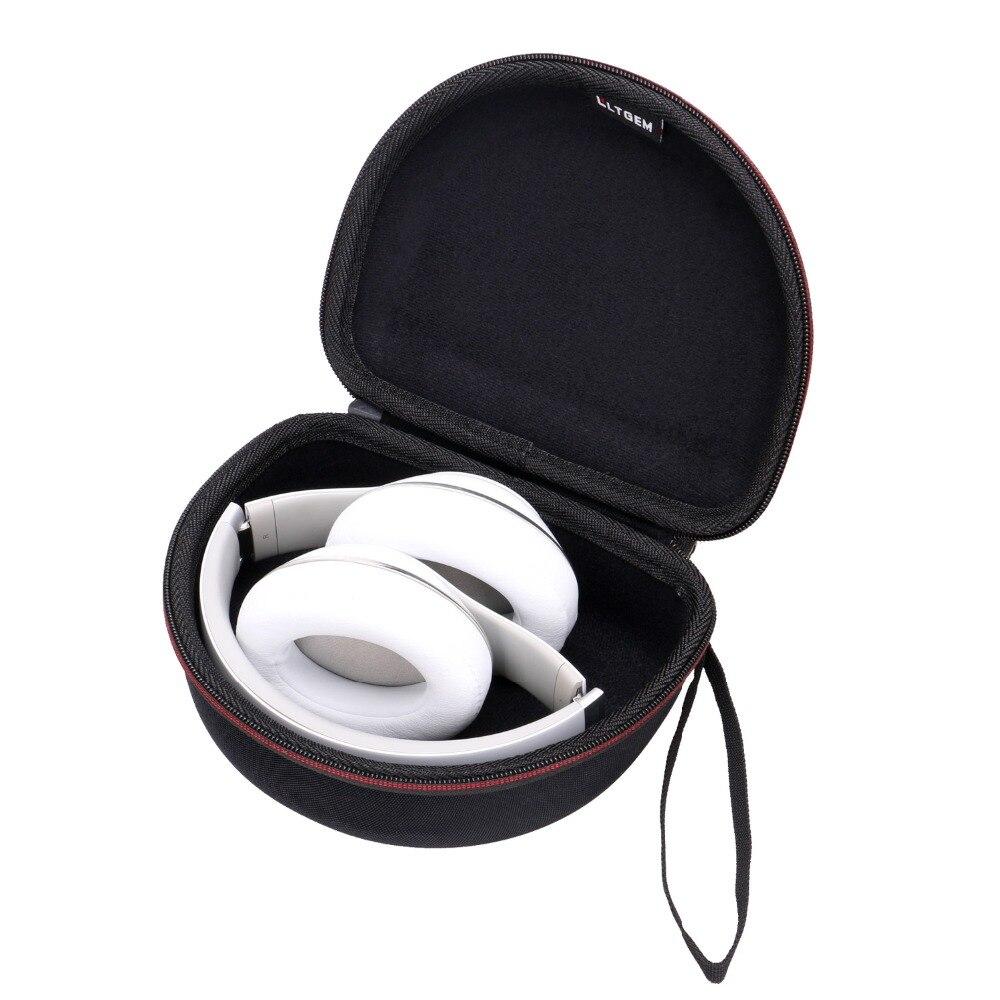 LTGEM Case Compatible with Beats Studio Wireless/Wired Over-Ear Headphones & Beats Solo2 / Solo3 Wireless On-Ear Headphones (Bla