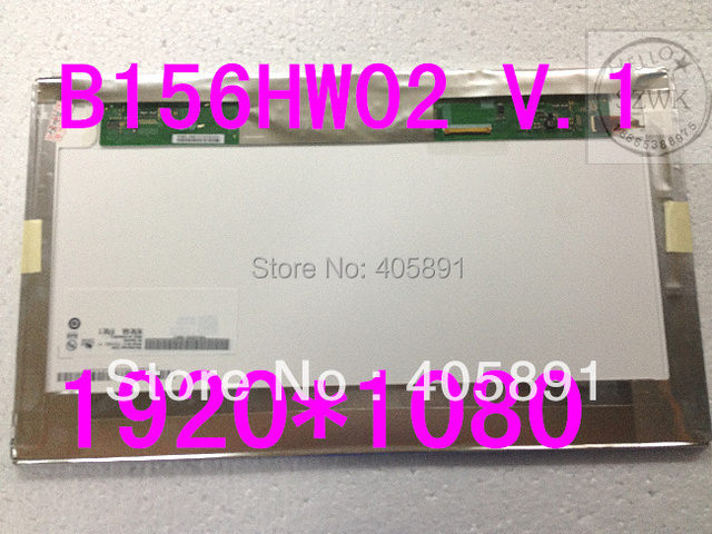 15.6inch full HDLaptop screen  B156HW02 V.1  LP156WF1 TLA1 TLC1 TLB1  1920x1080 display