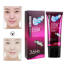 YANQINA BB Cream Face Liquid Foundation Makeup Base CC Cream Concealer Moisturizing Brighten Skin Makeup Bare Korean Cosmetics недорого