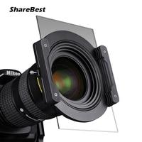 NiSi V5 Kit 100mm Glass Square Filter Aviation Aluminum 67mm Ring Mirror Bracket Square Plug in Sheet System For Nikon Canon