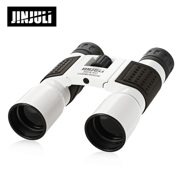 JINJULI 30X40 1500M/9500M Outdoor Binocular Telescope Fully-Coated Roof Prism Binocular Microscope Hunting Spotting Scopes