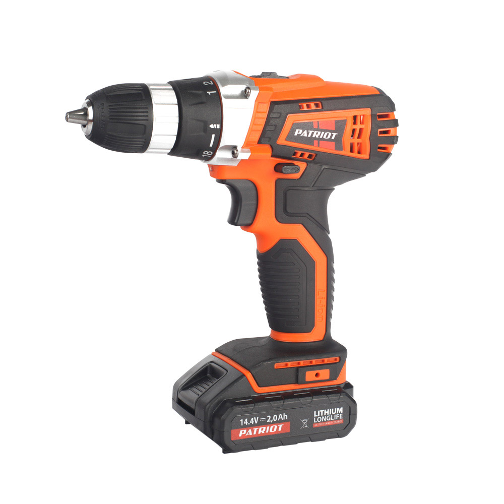 Cordless drill screwdriver PATRIOT BR 141Li The One cordless drill driver patriot br 104li the one