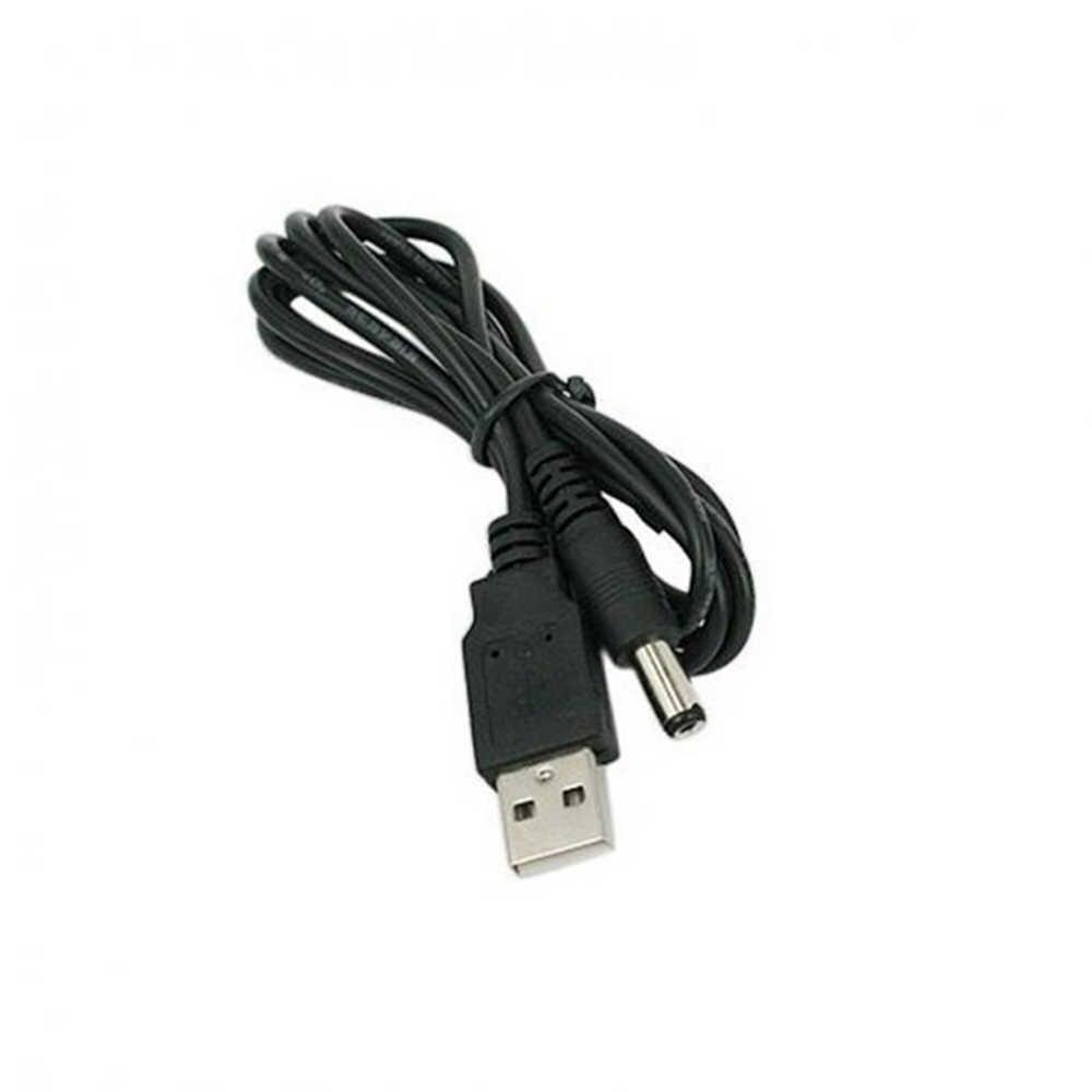 1 M USB để DC Power Cable 5.5mm USB A Nam để 5.5 Jack Nối 5 V Cung Cấp Điện adapter sạc cho HUB USB Cáp Điện Fan