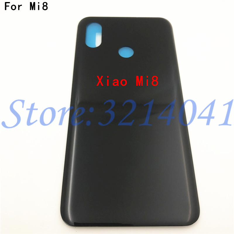 For <font><b>Xiaomi</b></font> Mi8 <font><b>Battery</b></font> <font><b>Cover</b></font> Back Glass Rear Door Housing Case For <font><b>Xiaomi</b></font> <font><b>Mi</b></font> <font><b>8</b></font> SE <font><b>Battery</b></font> <font><b>Cover</b></font> 8SE <font><b>8</b></font> Lite Explorer Replacement image