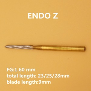 New Arrival Dental Tungsten Carbide Burs FG Endo Z for Extracting Burs WisdomTeeth 10 pcs