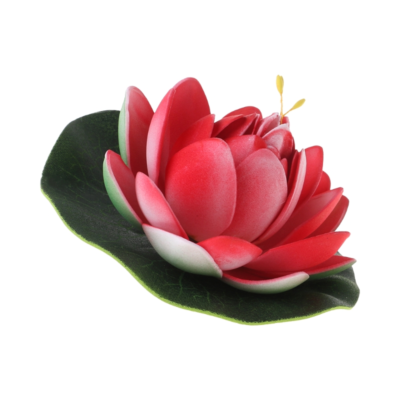 Lotus Flower In Pond,vintage Tone Colour Fashion Leather Passport Holder Cover Case Travel Wallet 6.5 In
