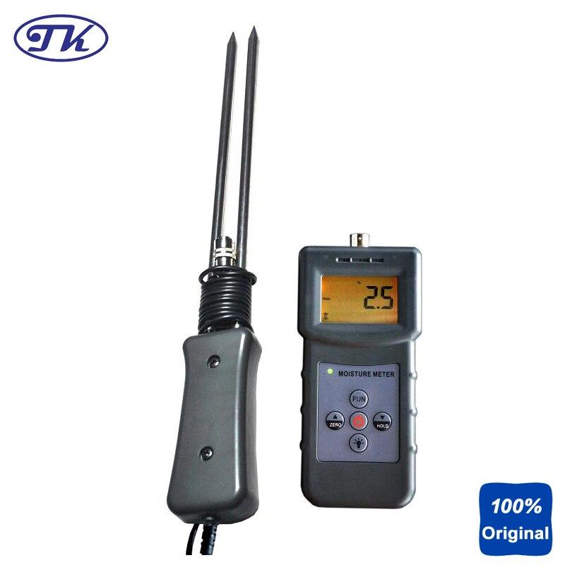 Digital Moisture Instrument Sawdust Moisture Meter with Seperate Probe MS-W ms c 4 90% digital textile moisture meter