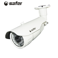 SAFER IP POECamera Security White Bullet Camera Video Surveillance Camera Outdoor 960P 30pcs IR Led Waterproof Video CCTV 1.3MP