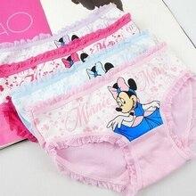 hot deal buy 4pcs/lot 2019 baby panties cotton cartoon children panties child briefs girls underwear 2377