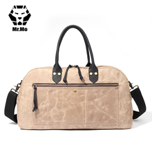 790a1c9da2 Men Luggage Bag Large Canvas Travel Organizer Mens Duffle Bag Suitcase Big  men Leather Handle weekender