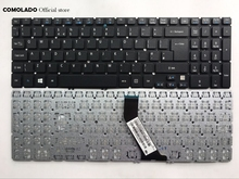 UK Laptop keyboard For Acer V5-531 V5-551 MS2361 V5-571G 531G V5 571 581 572 573G V5-573 With backlight keyboard UK Layout free shipping for acer aspire v5 571 v5 571p v5 571pgb v5 531pg ms2361 assembly touch screen and display not with frame