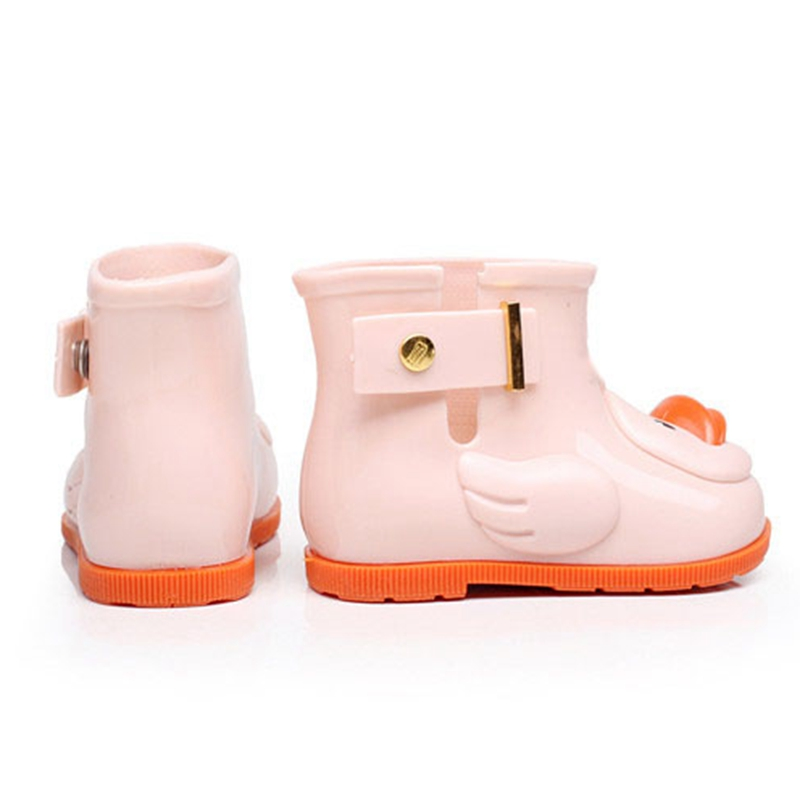 DUCK MEMON PVC Sugar Rain II Slip On Rain Boot (Toddler) CUTE DUCK CHILDREN SHOES 3 COLOR