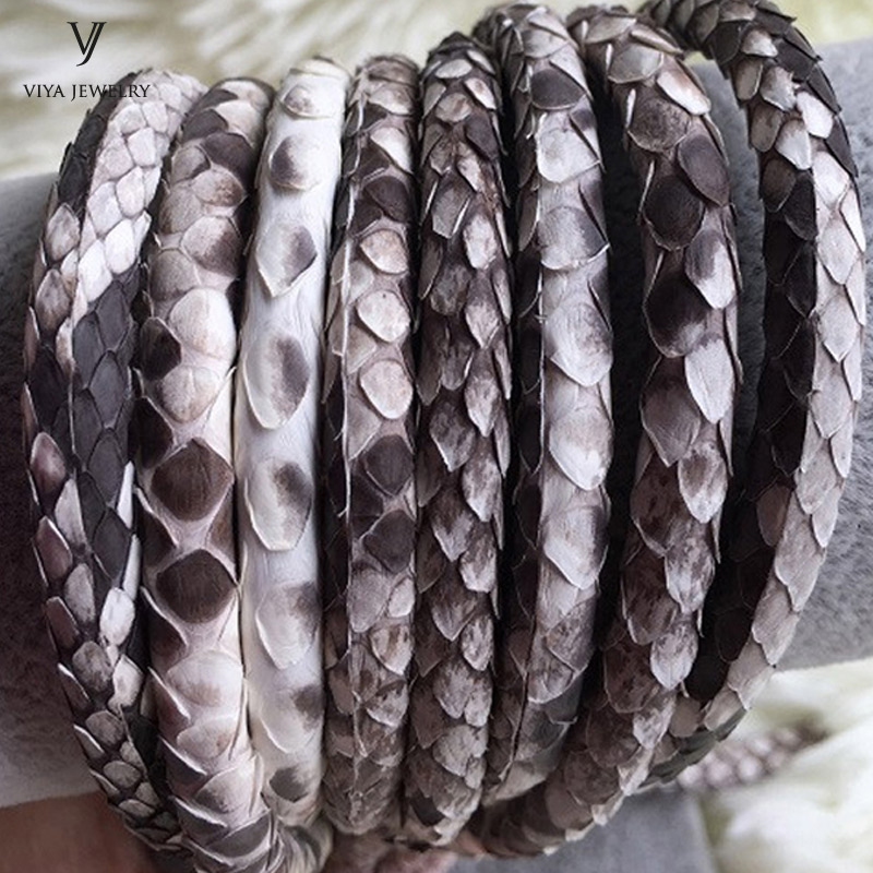 Jewelry Rope Original Python Leather Leather Cord 4mm Width 5mm Python Jewelry Cords For Bracelet 6mm Natural Python Leather james payne beginning python using python 2 6 and python 3 1