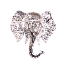 Royal Elephant Brooch Pin (2 Colors)
