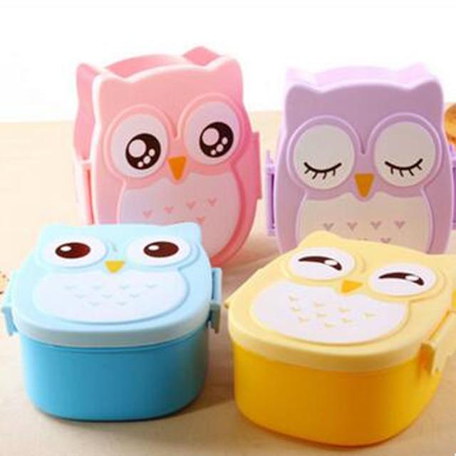 Kunststoff Kinder Bento Box Cartoon Schone Lunchbox Eule