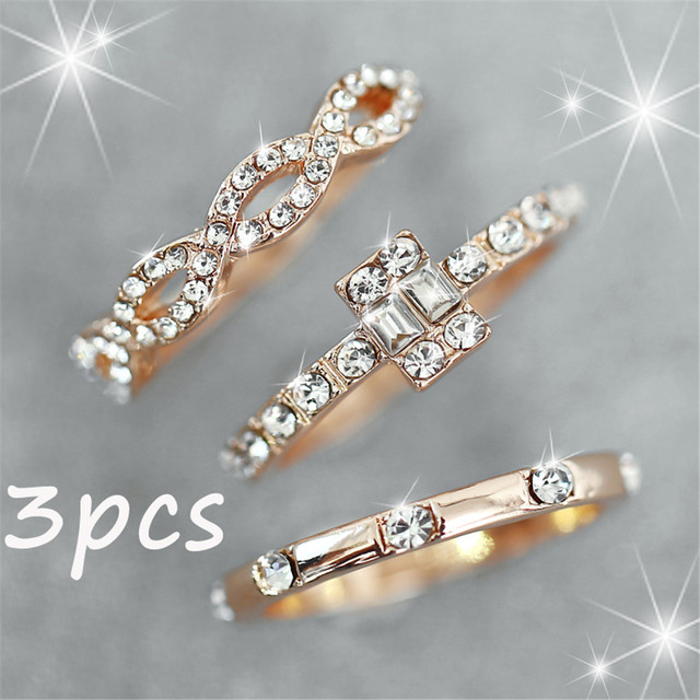 Ring set 3Pcs 4