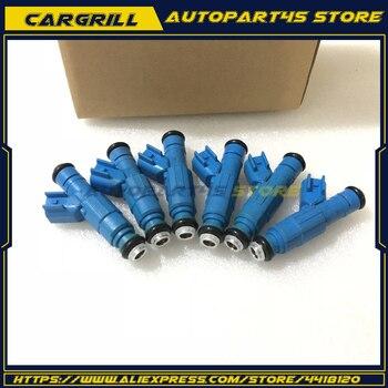 6 Pcs Fuel Injectors 0280155972 For Jeep Liberty Dodge Ram3.7L 1500 2003-2004