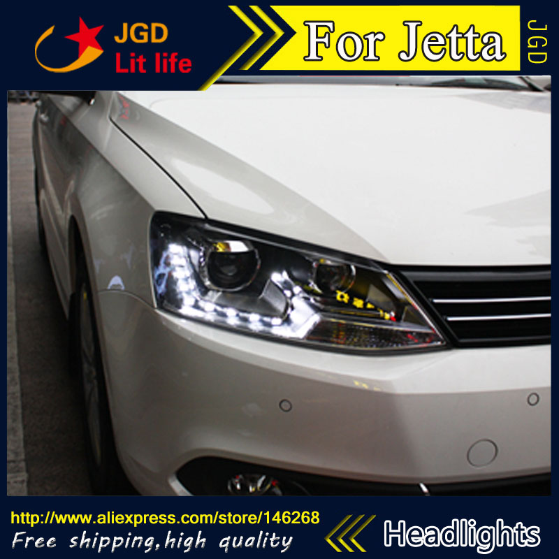 Free shipping ! Car styling LED HID Rio LED headlights Head Lamp case for VW Jetta 2012 2013 2014 Bi-Xenon Lens low beam free shipping original 0258007227 17014 0258007351 0258007057 fits for 99 05 vw jetta 1 8l l4 oxygen sensor front upstream