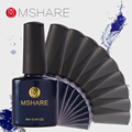 MSHARE 8ml Gel Nail Polish UV Gel Nail Polish Long-lasting LED UV Health and Environmental Gel Nail Art Tools Color 32