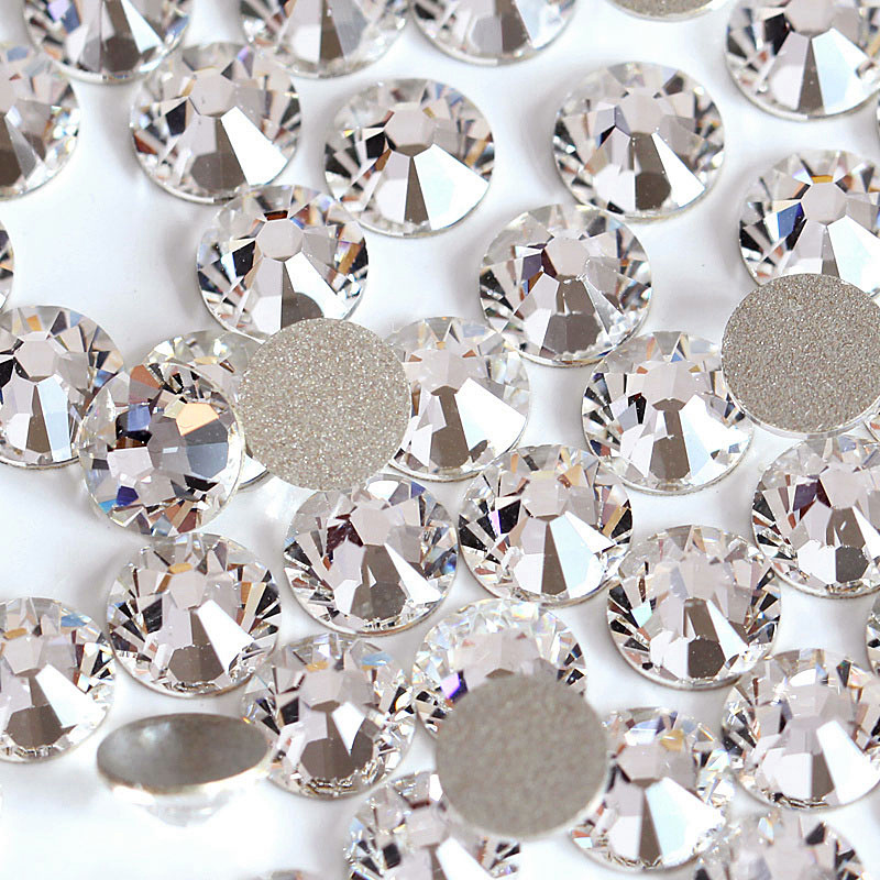 Glitter Rhinestone стразы Non Hot Fix Rhinestones Many Sizes Crystal Rhinestones Best Diamond For Nail Art Decorations B2012
