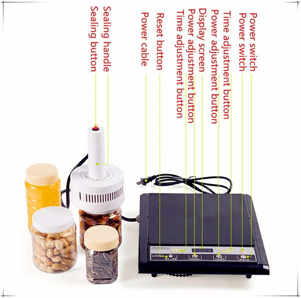 Free shipping500E Hand-held electromagnetic induction sealing machine Medical Plastic Bottle Cap Sealer Sealing Machine 20-80mm