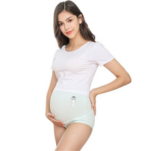 3pcs/lot High Waist Maternity Underwear Belly Support for Pregnant Women Cotton Cute Clothing