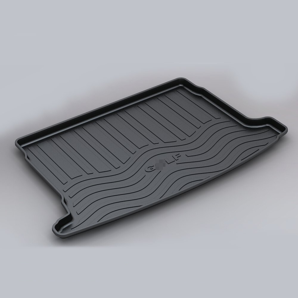 For Volkswagen Golf 6 GTE 2009-2018 Custom Fit TPO Car Cargo Rear Trunk Mat Boot Liner Tray All Weather Waterproof
