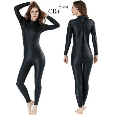 3 мм интегрированный мужской женский костюм для дайвинга CR+ Ультра Эластичный гидрокостюм для триатлона согревающие теплые кожаные черные водолазные костюмы MY086/MY129 - Цвет: MY129