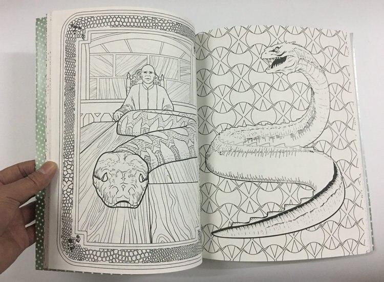 Nueva llegada 96 páginas Harry Potter libro para colorear para ...