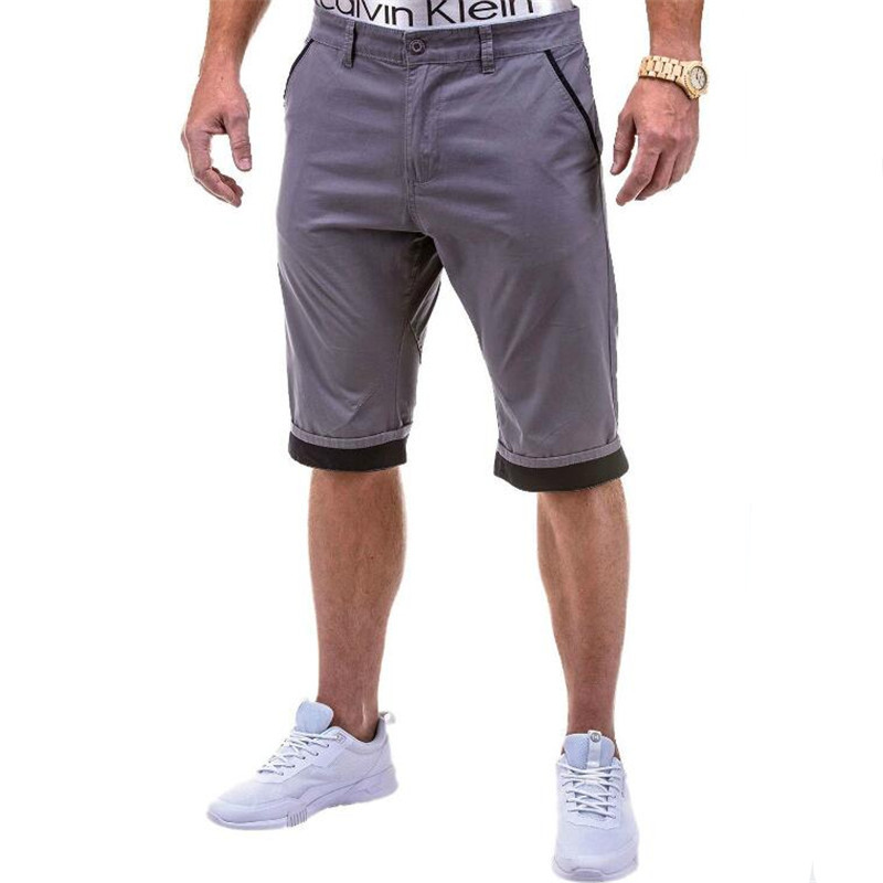 Shorts men 39 s color matching tooling casual shorts men 39 s cotton washed and woven straight five points shorts large size S XXXL in Casual Shorts from Men 39 s Clothing
