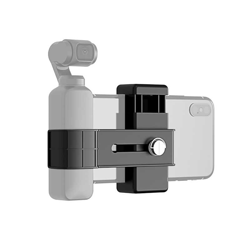 Puluz Smartphone Fixing Clamp 1/4 Inch Holder Mount Bracket For -Dji Osmo Pocket Handheld Gimbal Accessories