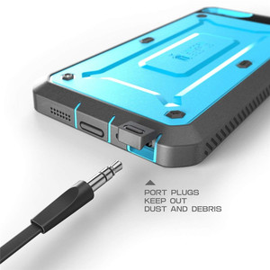 Image 4 - Supcase for iphone se 5 5 s 케이스 ub pro 전신 견고한 홀스터 클립 보호 커버 내장 스크린 보호 케이스 포함